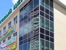 Фасад торгового центра, г. Москва, Куркино